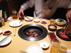 1食卓@焼肉トラジ・羽田空港店