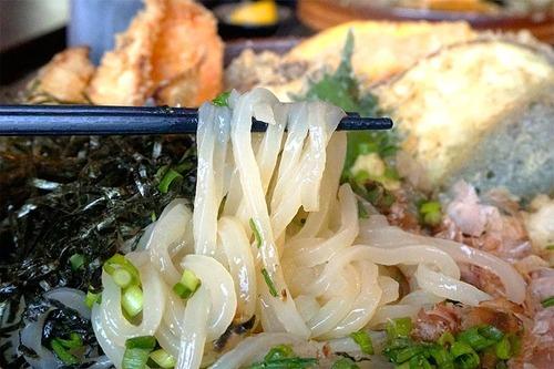 野菜天ぶっかけ麺