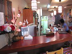 店内:カウンター席@韓国家庭料理ソウル亭・高砂