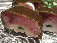 8寿司:松前寿司アップ@博多あら・ふぐ料理・たつみ寿司・総本店