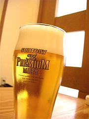 伴菜の生ビール