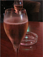 2店内:シャンパン@バーフィズ(Bar Fizz)グランドハイアット福岡・キャナルシティ博多