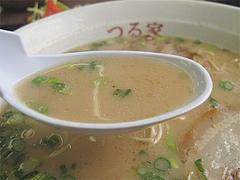 料理:ラーメンスープ@ラーメンつる家・那珂川