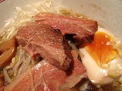 料理:ポークの角煮汁そばの角煮3@張子房・福岡