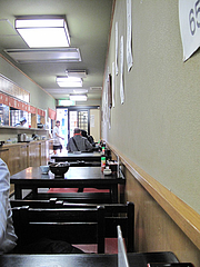 3店内:テーブル席@みすず庵・西新