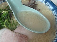 料理:ラーメンスープ@博多ラーメンしばらく平和台店
