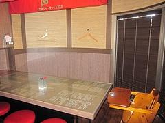 店内:個室@一蘭・天神西通り店