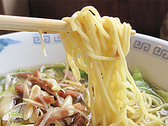 料理:ネギ汁そば(葱油湯麺)麺@中華料理・点心楼・台北・若久