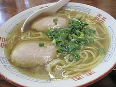 料理:ミニヤキメシセットの醤油ラーメン@中国飯店・福岡市中央区平和