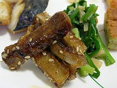 10ランチ:ごぼうの揚げ煮@JAにじ・耳納の里・バイキングレストラン夢キッチン