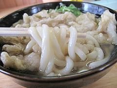 15ランチ:ごぼう天うどん麺@天ぷらうどん・唐人町