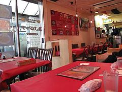 店内:テーブル席@本場インド料理の店D.カジャナ・大手門店