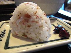 ランチ:おにぎり・しそみょうが100円@生蕎麦・玄・天神