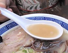 料理:博多コクとんこつら~めんスープ@ダーチャ・まんぼ亭・赤坂門市場