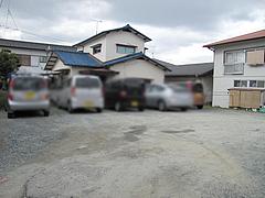 外観:駐車場@ちゃんぽん・ならここ・春日