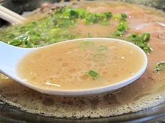 7ランチ:ラーメンスープ@ラーメン・博多一幸舎・太宰府インター店