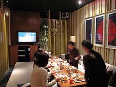 店内:個室・客入り@スロープラスケー(SLOW+K)・中洲ゲイツ