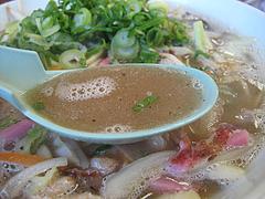 料理:ちゃんぽんスープ@らーめんず倶楽部元気・花畑