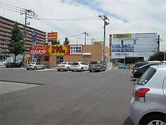 外観・ひろーい駐車場@博多ラーメンはかたや筑紫通店