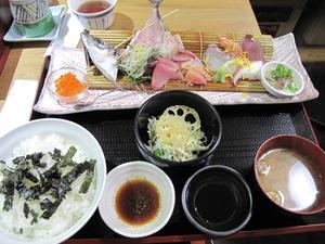 4海鮮刺し盛り丼950円@博多ごまさば屋