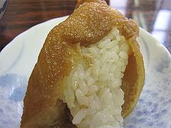 料理:いなりの裏側@はるやうどん・小倉