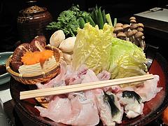 料理:ふぐちり@一椿・和(なごみ・NAGOMI)・小倉