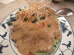 料理:棒棒鶏480円@台湾料理・点心楼・台北・清川
