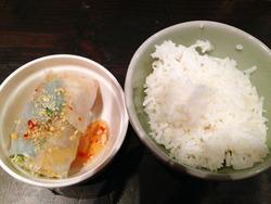11白ご飯と生春巻き@オールドタイランド新橋