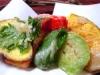 ランチの野菜天ぷら@農家レストラン花酢里(かすり)