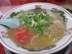 料理:ラーメン550円@福一ラーメン・博多区那珂