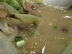 料理:焼らーめんスープ@博多らあめん・てん・大橋