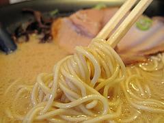 ランチ:豚骨ラーメン麺@らーめん二男坊・春日原・福岡