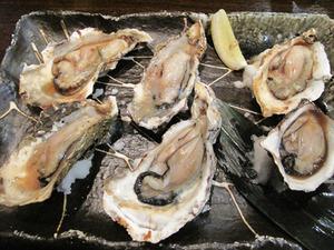 4牡蠣の磯焼き2人前@奏宴