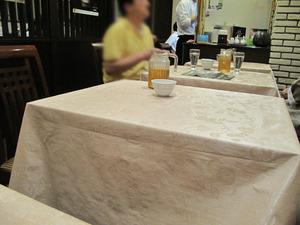 3テーブル席@悠久上海