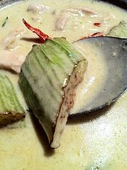ランチ:タイの白ナス750円@大橋・タイ料理・オシャ