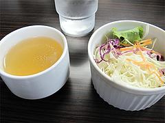料理:ランチのスープとサラダ@カレー倶楽部ルウ