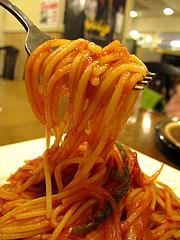 料理:ナポリタン食べる@チャーリーブラウン・サンセルコ・ゴールド免許センター
