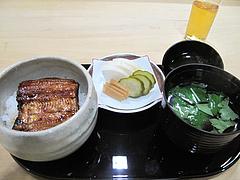 17和食・鰻:うな重レディースセット@中洲しか野・う奈ぎ(うなぎ)道場・松戸