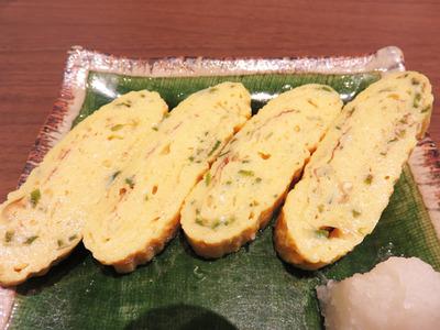 8青唐辛子の出汁巻き玉子540円