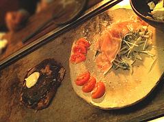 14居酒屋:お好み焼きとサラダ@鉄板バル・あじさわ・お好み焼き・姪浜