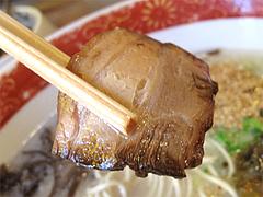 料理:博多ラーメンのチャーシュー@めんくいや・福岡市中央区渡辺通