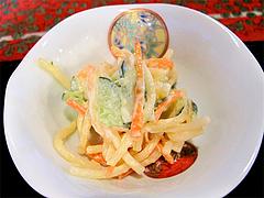 料理:野の花膳・スパゲッティサラダ@おちゃの舎 野の花・福岡県小郡市