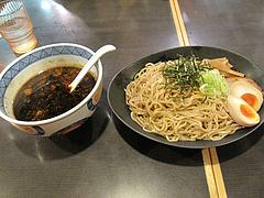 ランチ:濃厚ブラックつけ麺850円@麺家いろは・富山ブラック・キャナルシティ・ラーメンスタジアム