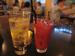 カフェバー:トマトジュースとハイボール@cafe tempo(カフェ・テンポ)・今泉・天神