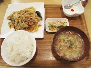 23回鍋肉ランチ750円@苗老太