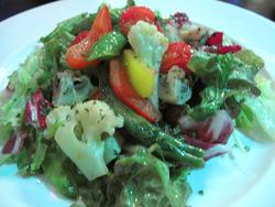 7温野菜のサラダ2@コムーネ