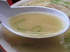 料理:ラーメンスープ@王龍ラーメン・赤坂