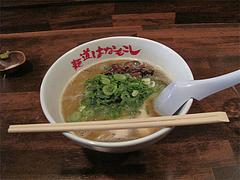 6ランチ:ラーメン650円@麺道はなもこし(花もこし)・薬院