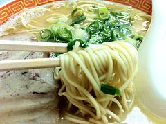 メニュー:ラーメン麺@一九ラーメン・大橋店