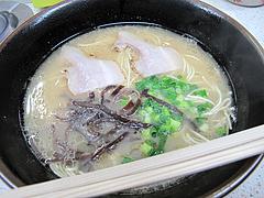料理:ラーメン550円@博多ラーメンおとみさん・高宮